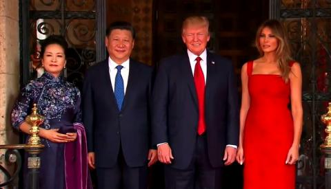 Trump and Xi on their two-day summit