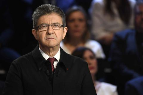 Melenchon is gaining more support in French presidential race