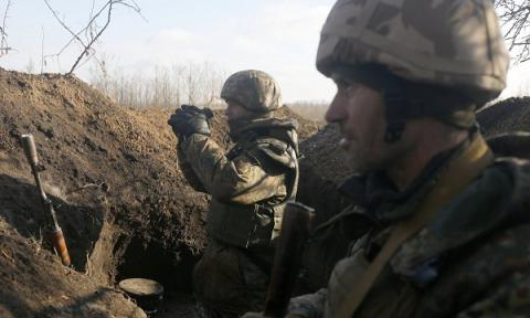 Donbas militants launched 44 attacks on Ukrainian military over past 24 hours - Kyiv