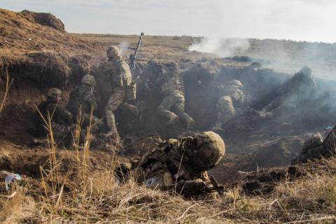 5 Ukrainian troops wounded as fighting over Donbas escalates