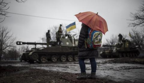 Russia-backed militants launched 45 attacks on Ukrainian positions in Donbas war zone