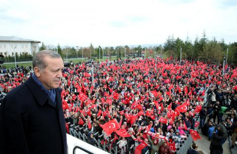Turkish Erdogan gets major support in referendum on constitution