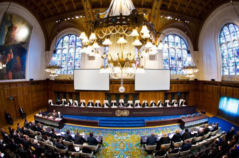 Hague court expects from Russia, Ukraine peaceful settlement of Donbas conflict