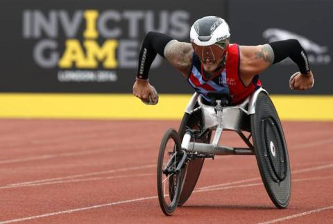 National Competition Invictus Games to be held in Ukrainian capital on Apr 21-24