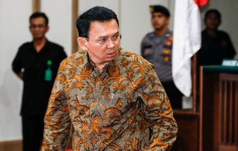 Jakarta governor could get 2 years probation