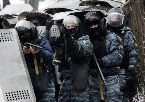 Riot police ex-officers charged with crimes against Maidan protesters are serving in police