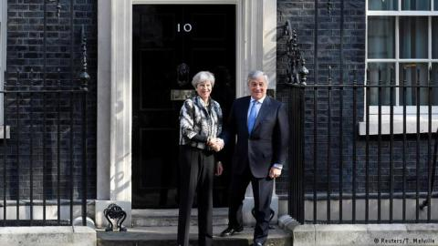 British PM talked over Brexit with European Parliament president