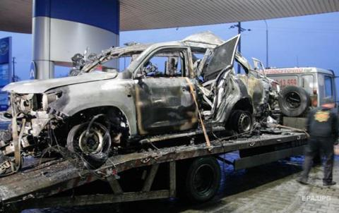 US citizen killed in OSCE patrol car blast in eastern Ukraine (VIDEO 18+)
