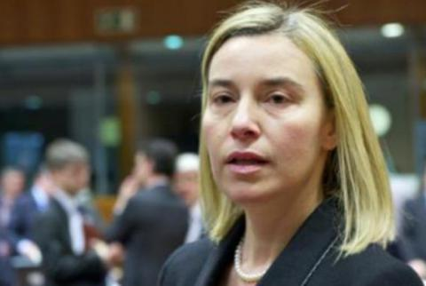 Anti-Russia sanctions is tool for EU to resolve conflict in eastern Ukraine - Mogherini