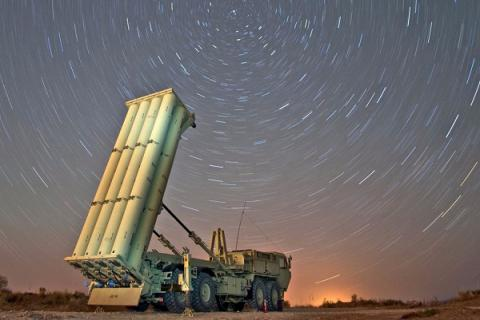 US military starts moving Thaad missile defence system to South Korea