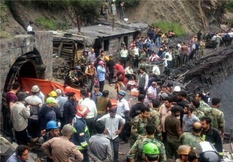 Coal mine explosion in northern Iran kills at least 35 (VIDEO)