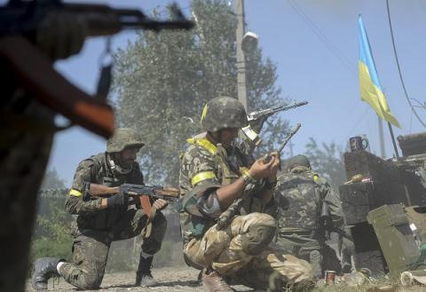 Donbas militants attacked Ukrainian military