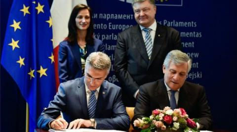 Document on visa liberalisation with EU for Ukrainians finally signed!