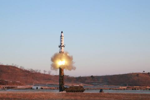 North Korea fires medium-range missile similar to one tested earlier - U.S., South Korean intel