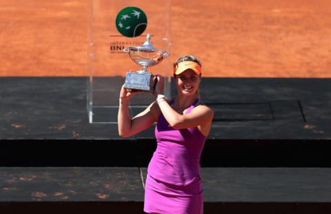 Ukrainian tennis player wins Rome WTA tournament