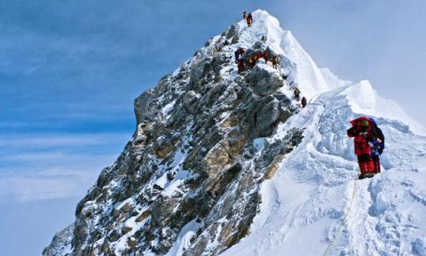 Nepal Mountaineering Association says Everest's still intact