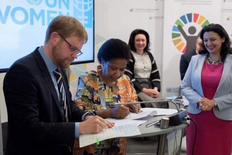 Switzerland allocates EUR 5m for  gender equality, peace project in Ukraine