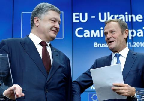 Ukrainian President Poroshenko to meet with EC President Tusk on June 22
