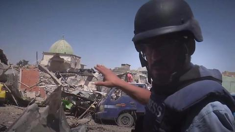 End of IS caliphate declared: Iraqi forces enter destroyed Great Mosque of al-Nuri in Mosul