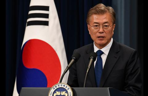 South Korea seeks military talks with North - Moon Jae-in