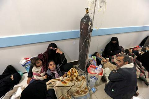 Almost 400,000 cases of cholera infection reported in Yemen
