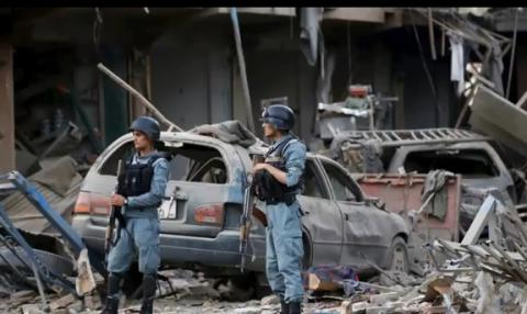 Taliban kills 24 in suicide bombing of bus with govt employees in Afghan capital