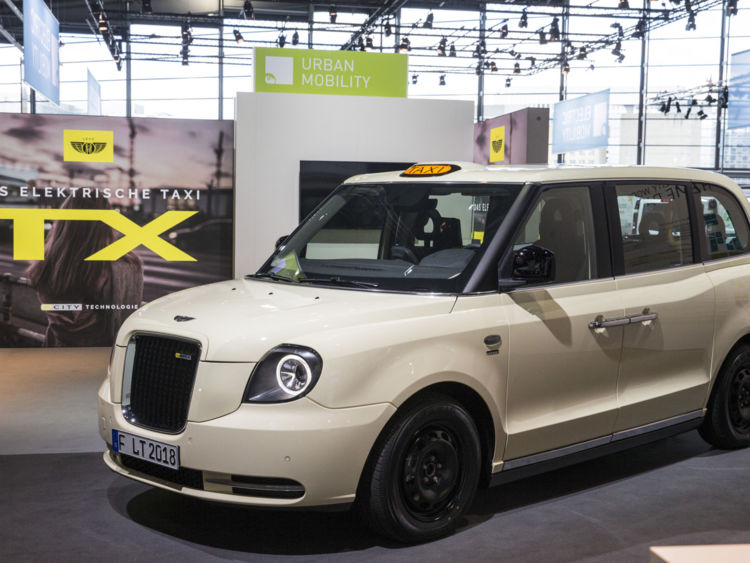 Black Cabs Go Green Electric Taxis On The Way