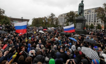 More than 100 people detained during rallies in support of Navalny in Russia