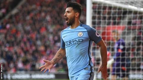Sergio Aguero: Man City striker returns to training after car crash