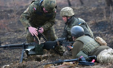 Donbas: One Ukrainian serviceman wounded