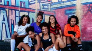 100 Women: Football offers girls a shield in Brazil