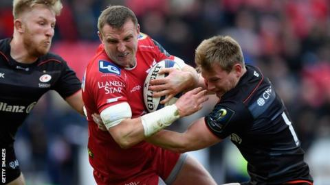 Wales rugby squad: Hadleigh Parkes included for first time