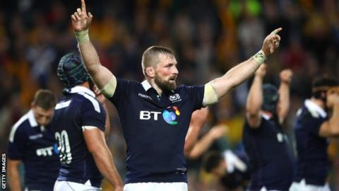 Scotland: Gregor Townsend calls up 10 new caps for autumn Tests
