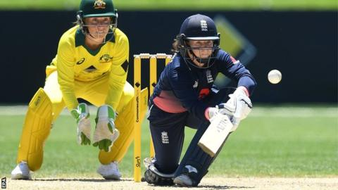Women's Ashes: England beat Australia by 20 runs to reduce deficit in series