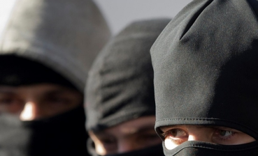 In Odesa, 40 people in balaclavas tried to seize military unit