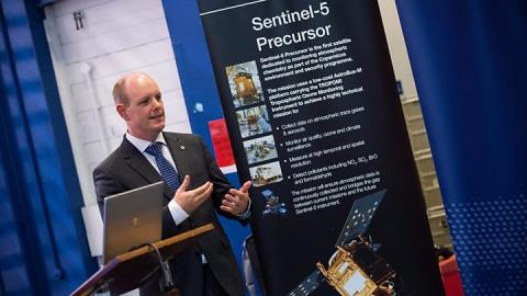 UK-built Sentinel satellite to track air pollution