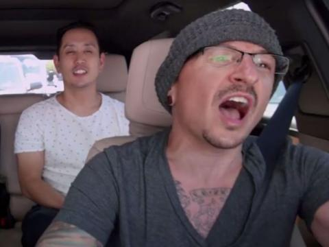 Linkin Park star in posthumous Carpool Karaoke