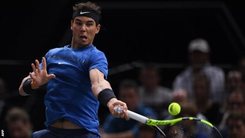 Paris Masters: Rafael Nadal ends year as world number one after win over Hyeon Chung
