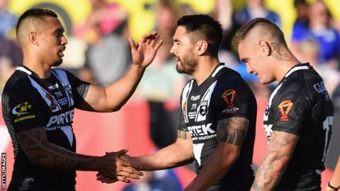 Rugby League World Cup: New Zealand thrash Scotland 74-6