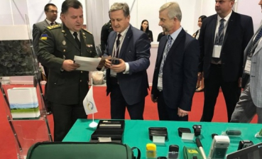 Ukraine's Defense minister joins Defense and Security 2017 exhibition in Bangkok