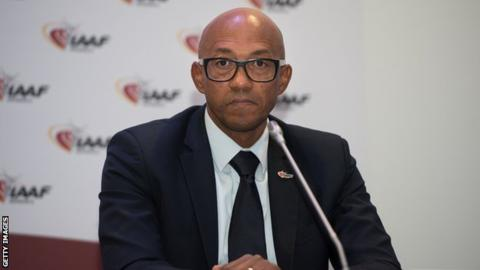 Frankie Fredericks suspended by IOC following corruption charge
