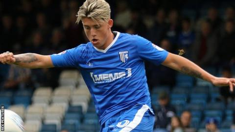 Checkatrade Trophy: Gillingham win 12-goal thriller, while holders Coventry go out