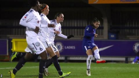 Women's Champions League: Chelsea Ladies 3-0 Rosengard Women