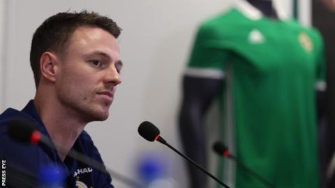 World Cup play-off: Jonny Evans ready to stand up against Swiss