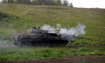 Donbas conflict: Militants use heavy weapons, wounded one Ukrainian military