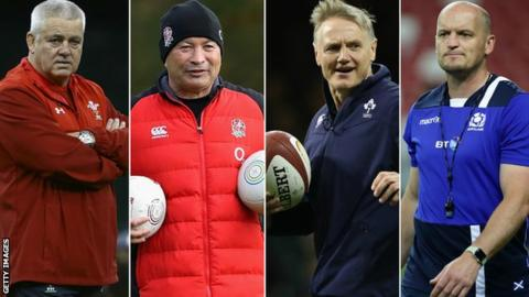 England, Wales, Scotland and Ireland set for autumn Tests