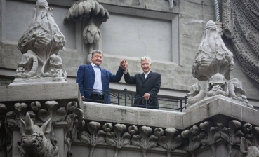 Poroshenko thanks David Lynch for opening representative office in Ukraine