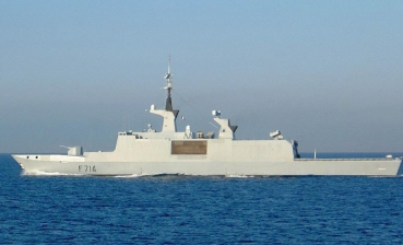 French Navy stealth ship enters Black Sea