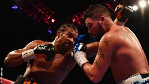 David Haye v Tony Bellew: Heavyweight rematch postponed