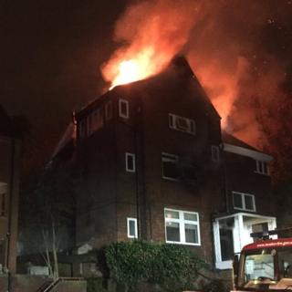 Hampstead fire: Woman dies in fire at block of flats